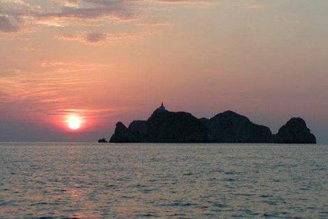 FOTKA - Zapad slunce nad morem