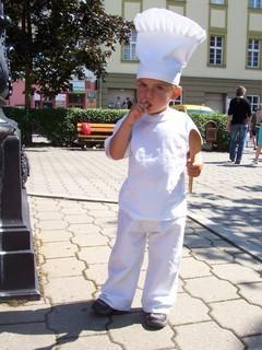 FOTKA - malý kuchař