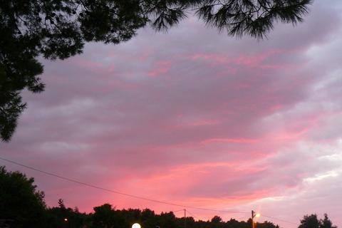 FOTKA - Západ slunce nad Čiovem