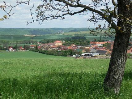 FOTKA - Liteň -a v dálce Karlštejn