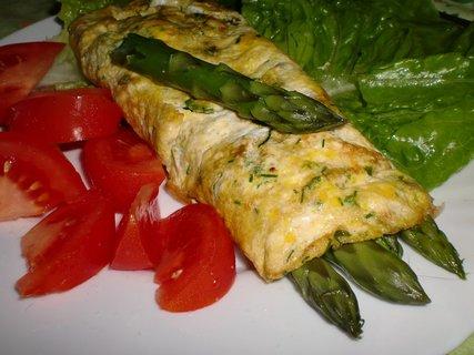 FOTKA - Bylinkové omelety plněné chřestem