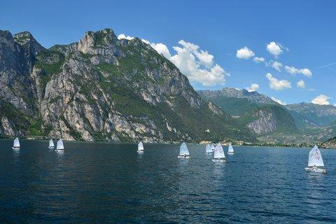 FOTKA - Děcká regata na Gardě