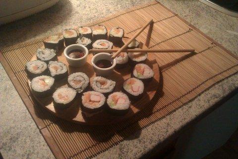 FOTKA - Domácí suši