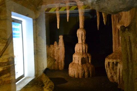 FOTKA - Krápníky v podzemí