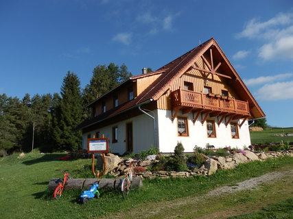 FOTKA - dovolená na Šumavě, naše ubytování v Borových Ladech