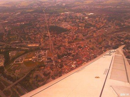 FOTKA - výhled z letadla Ostrava