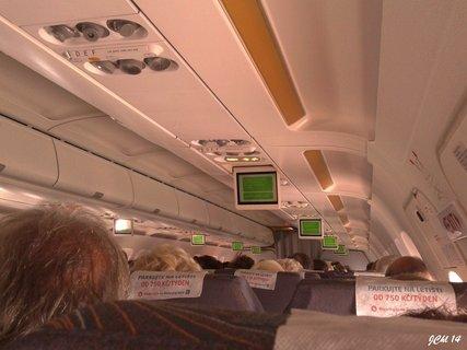 FOTKA - na palubě  letadla