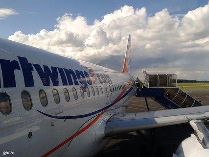 FOTKA - nástup do letadla