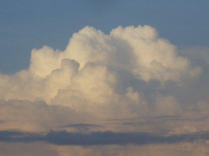 FOTKA - dnešní krásné mraky