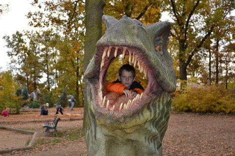 FOTKA - Luky v dinosauří hlavě