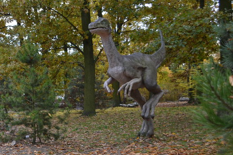 FOTKA - Ornithomimus v dinu