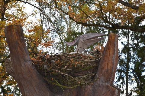 FOTKA - Pteranodon v hnízdě