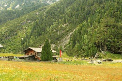 FOTKA - Krimmlerské vodopády a Achental - Hölzlehner Alm