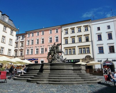 FOTKA - Kašna v Olomouci