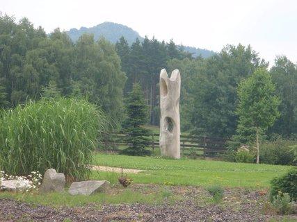 FOTKA - dřevěný sloup