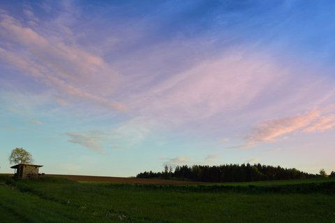 FOTKA - Divoká večerní obloha