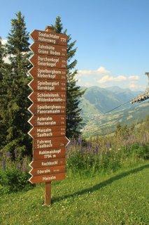 FOTKA - Montelino stezka v Saalbachu - Na hoře Kohlmais