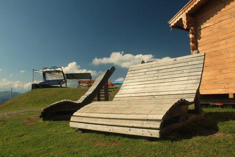 FOTKA - Montelino stezka v Saalbachu - Odpočinek na vrcholu