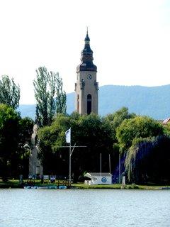 FOTKA - Ještě jednou z jiného pohledu duchcovský kostel.