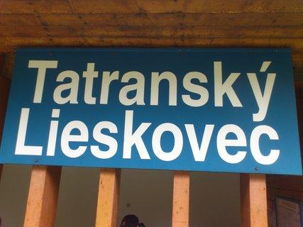 FOTKA - Vysoké Tatry - nápis