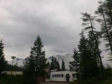 FOTKA - Vysoké Tatry - Štrbské Pleso, mlha na horách