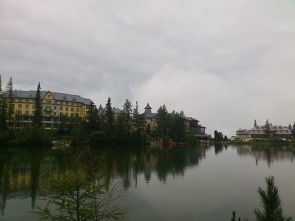 FOTKA - Vysoké Tatry - Štrbské Pleso z druhé strany