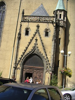 FOTKA - Vchod do kostela