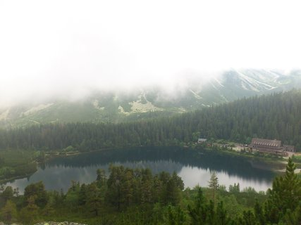 FOTKA - Vysoké Tatry - ohlédnutí za Popradkým Plesem