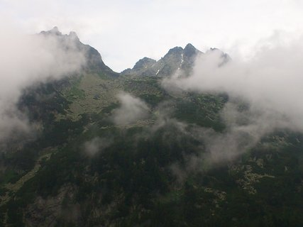FOTKA - Vysoké Tatry - přiblížený vrchol
