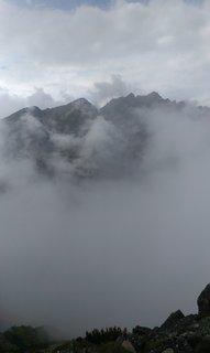 FOTKA - Vysoké Tatry - hustá mlha