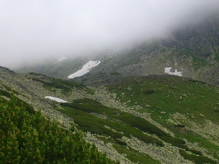 FOTKA - Vysoké Tatry - další zbytky sněhu