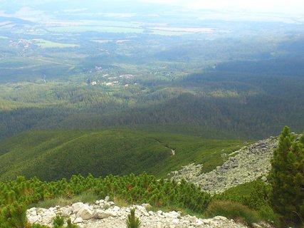 FOTKA - Vysoké Tatry -  cestička přes pahorek