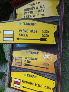 FOTKA - Vysoké Tatry -  odbočka na Vyšné Hágy