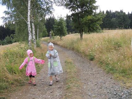 FOTKA - na vrchol jsme nedošly, bereme zpátečku, pršííííí