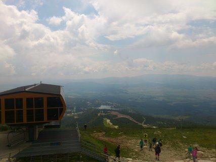 FOTKA - Vysoké Tatry - dojeli jsme lanovkou