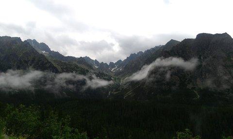 FOTKA - Vysoké Tatry - mrak na dotek