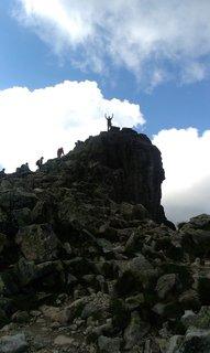 FOTKA - Vysoké Tatry - Lomnické sedlo, jsme úplně nahoře