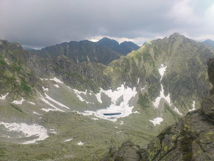 FOTKA - Vysoké Tatry - překračujeme Bystrou lávku