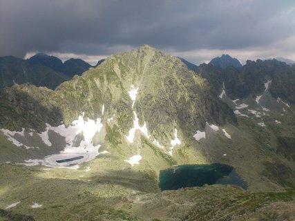 FOTKA - Vysoké Tatry - osvícená hora