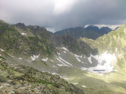 FOTKA - Vysoké Tatry - černé mraky
