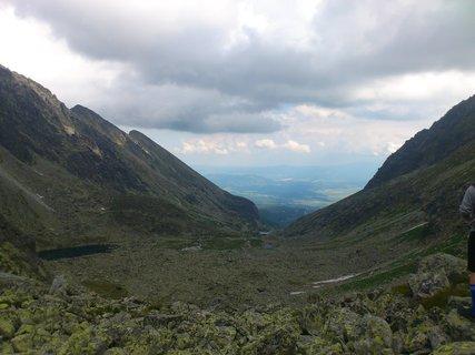 FOTKA - Vysoké Tatry - pohled do údolí