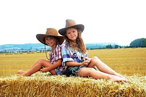 FOTKA - malé kovbojky