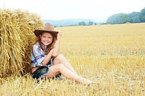 FOTKA - krásny usmev kovbojky
