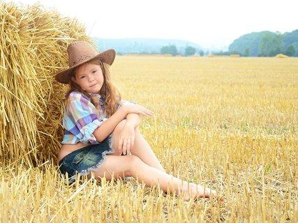 FOTKA - jako modelka kovbojka