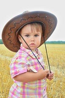 FOTKA - nejmenší kovbojka Kristínka