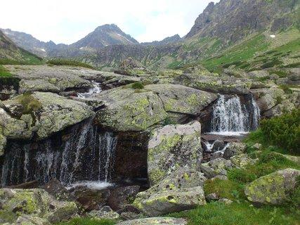FOTKA - Vysoké Tatry - voda a hora