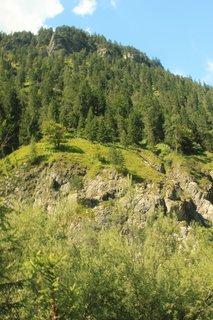 FOTKA - Vorderkaserklamm - V údolí