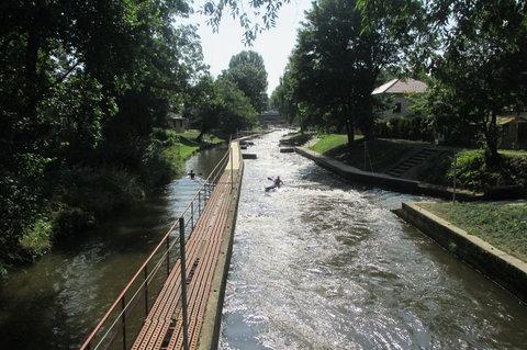 FOTKA - Brandýs nad Labem - Stará Boleslav: Kanál Brandýs