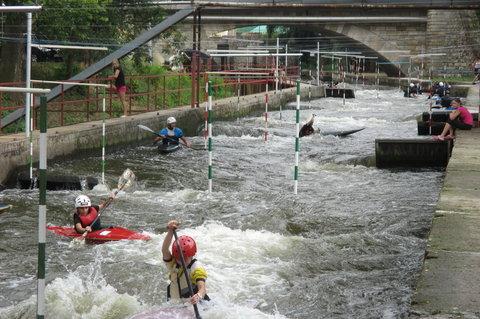 FOTKA - Brandýs nad Labem - Stará Boleslav: Kanál Brandýs , ráj vodáků