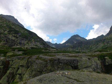 FOTKA - Vysoké Tatry - pohled dozadu